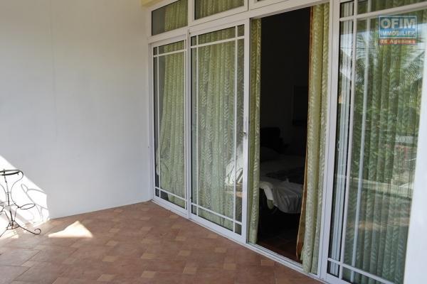 Flic en Flac location appartement 1 chambre dans haut de villa au calme