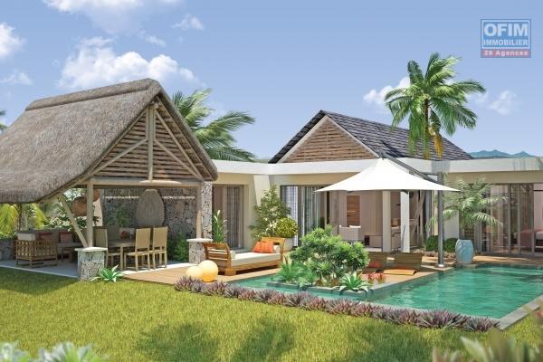 Accessible aux étrangers et aux mauriciens: A vendre une très belle villa récente à 200 mètres de la plage de Trou aux Biches en Statut RES éligible aux étrangers qui bénéficie d'un permis de résidence permanent à toute la famille.